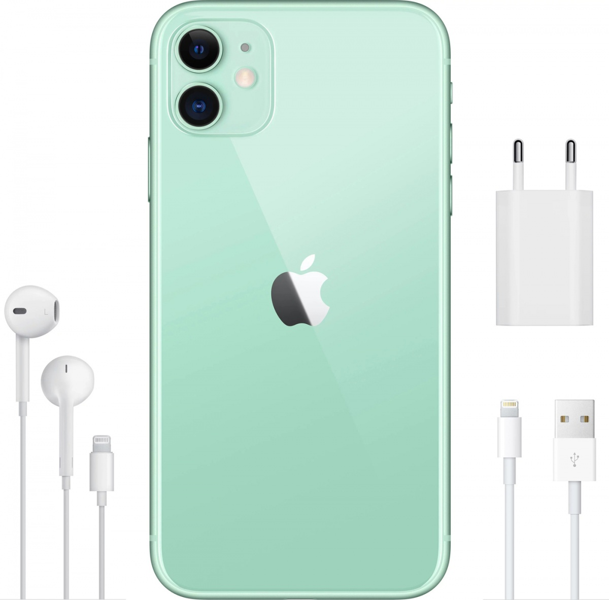 Смартфон Apple iPhone 11 Зеленый / 256 ГБ